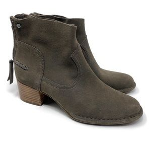 NEW UGG Bandara Ankle Booties 7 Mole Taupe tan